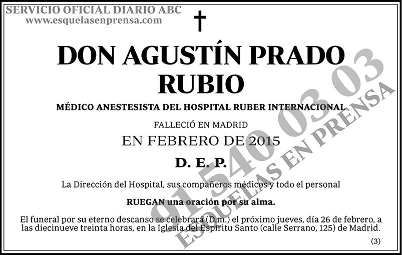Agustín Prado Rubio